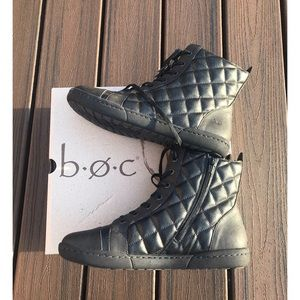 Born BOC Brightops Quilted Combat Chukka Sneakers